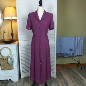 Miss Dorby Vintage Coat Dress Cottagecore